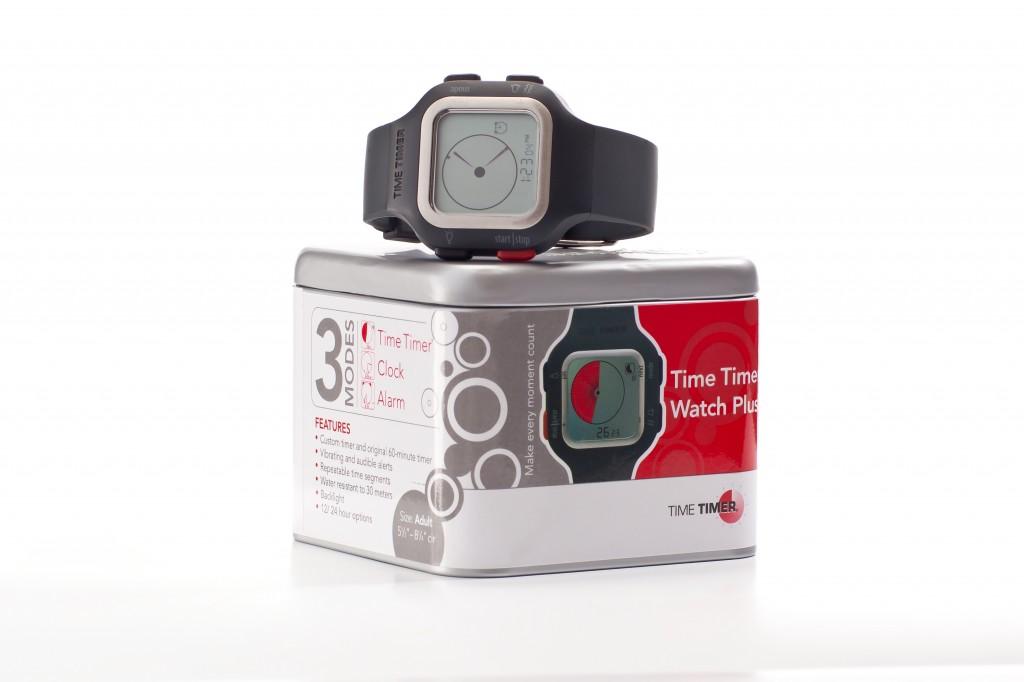 Time Timer Watch Plus Adult clock mode tin